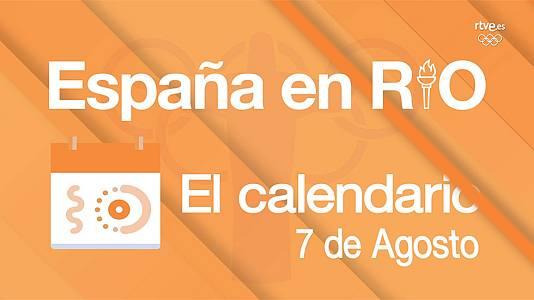 España en Río, 7 de agosto