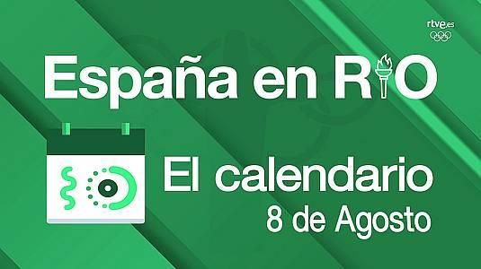 España en Río, 8 de agosto