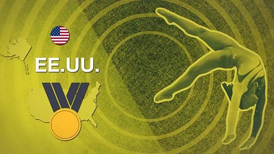 Biles lleva el oro a EEUU en gimnasia artística