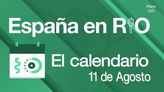 España en Río - 11 de agosto