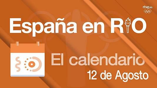 España en Río - 12 de agosto