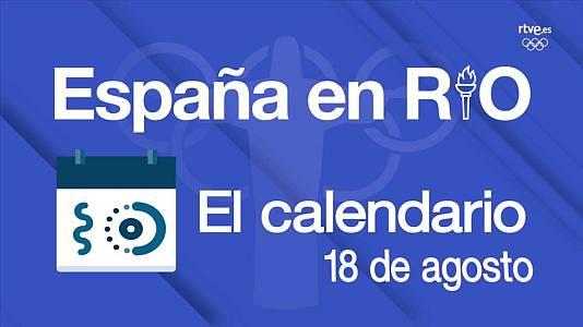 España en Río: 18 de agosto