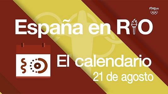 España en Río - 21 de agosto