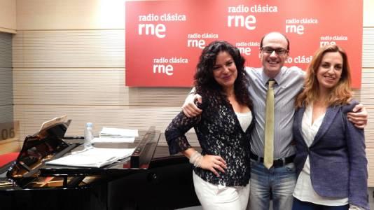 Nancy F. Herrera, Raquel Lojendio y Roberto Balistreri