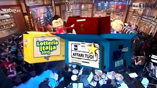 Italia celebra un sorteo similar a nuestra Lotería de Navidad el 6 de enero
