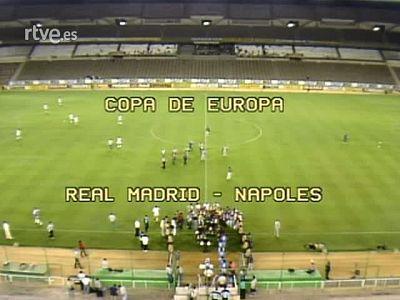 Aquel Real Madrid - Nápoles a puerta cerrada - Retransmisión completa