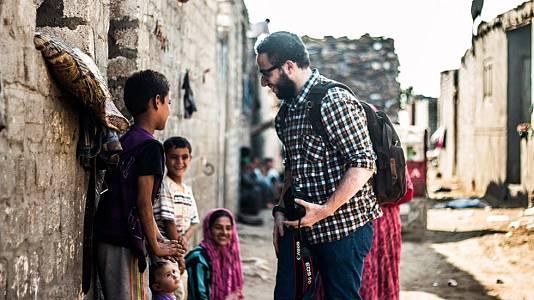 La historia de Belal Darder, fotógrafo egipcio refugiado