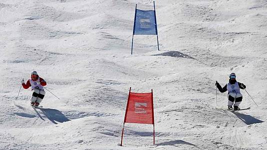Freestyle Dual Moguls. Finales