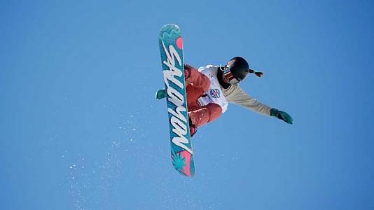 Snowboard Halfpipe. Clasificatorias Femeninas