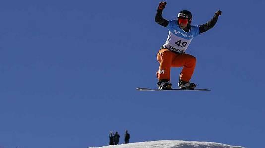 Snowboard Cross. Clasificatorias Masculinas