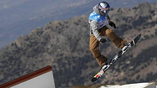 Snowboard Slopestyle. Finales