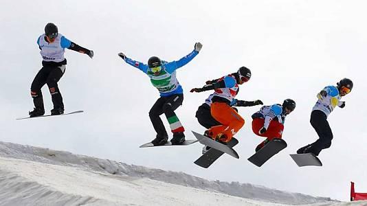 Snowboard Cross. Finales