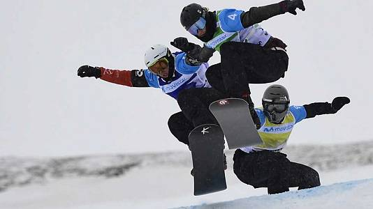 Snowboard Cross. Finales Equipos