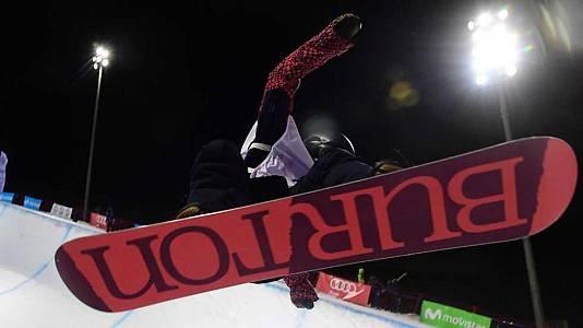 Snowboard Halfpipe. Final
