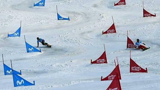 Snowboard Slalom Paralelo. Finales