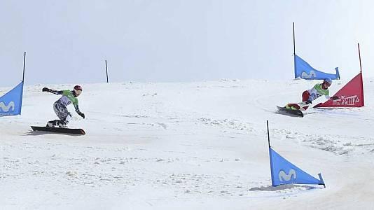 Snowboard Slalom Gigante Paralelo. Finales