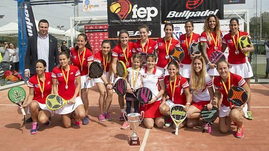 Campeonato de España de Pádel por equipos 2017. La Nucia (Alicante). 10 al 12 de marzo