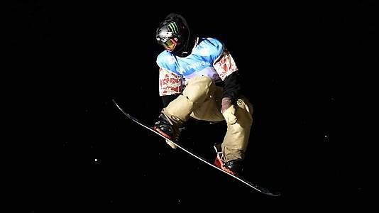 Snowboard Big Air. Finales