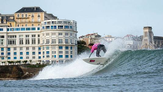 ISA World Surfing Games 2017. Primera y segunda jornada categoría femenina . Biarritz mayo 2017