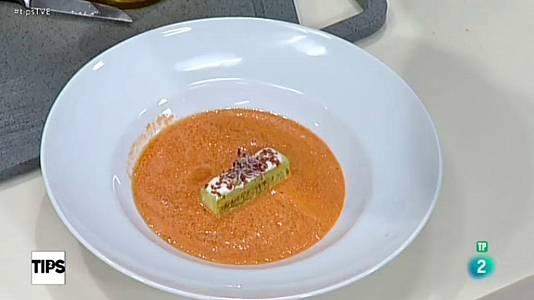 La cocina de Sergio - Crema de sandia y yogur con jam