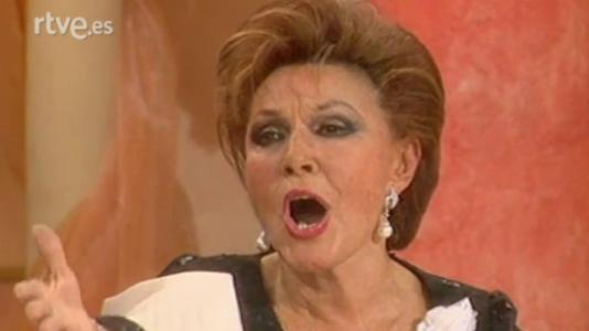 Paquita Rico presenta 'La viudita naviera'