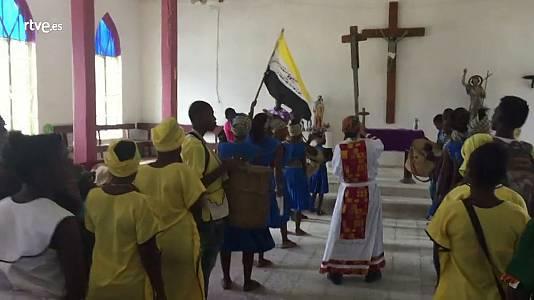Una misa garífuna