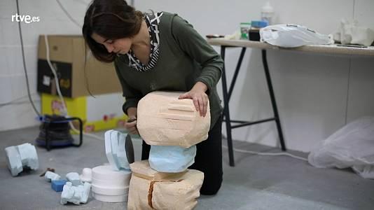 Desatados - 07 Esther Gatón, artista plástica