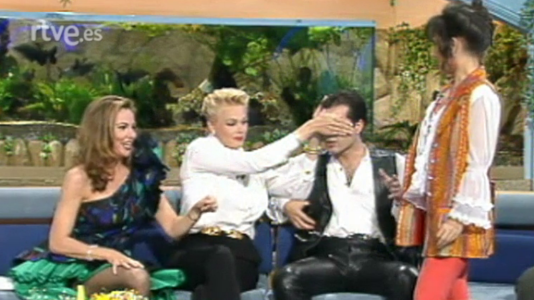 Brigitte Nielsen, N. Duval, Paco Aguilar y Amist. Peligrosas