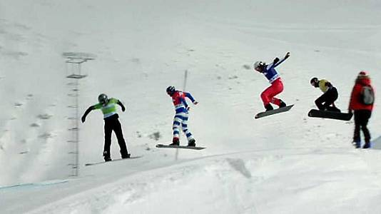 Copa del Mundo. Finales SnowboardCross