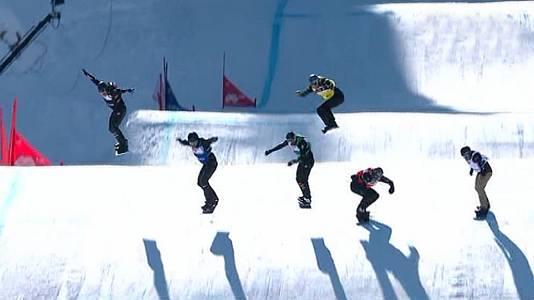 Copa del Mundo. Finales Snowboardcross Sprint