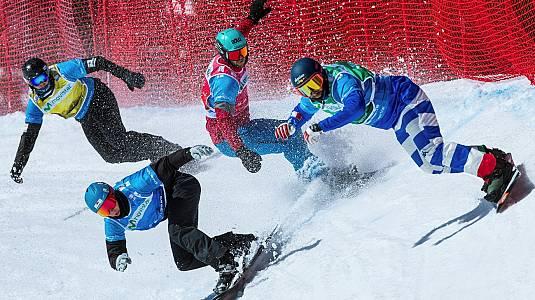 Copa del Mundo Finales SnowboardCross. La Molina (España)