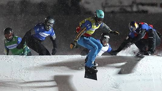 Copa del Mundo. Finales SnowboardCross por Equipos