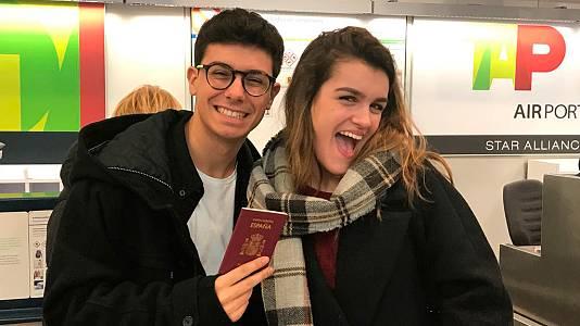 Amaia y Alfred viajan a las Azores para grabar la postal