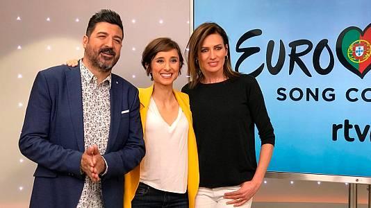 Tony Aguilar, Julia Varela y Nieves Álvarez, invitados