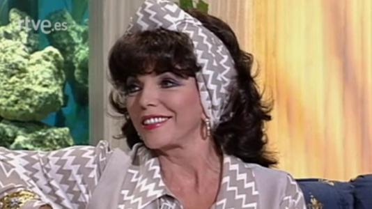 Joan Collins, Maribel Verdú y Pepe Rubio