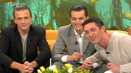 Paz Padilla, Alessandro Lecquio, Ángel Garó y Helen Lindes