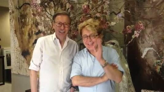 Victorio& Lucchino felicitan a Jesús Mari Montes-Fernández por el homenaje recibido en Ifema.