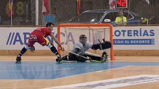 Cto. de Europa Masculino 1ªSemifinal: España - Francia