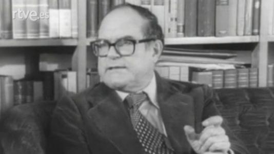 Julián Marías, Leopoldo de Luis y Vicente Llorens