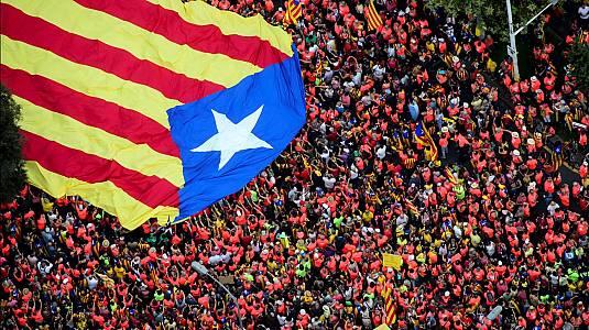 Cataluña dividida