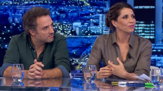 Daniel Guzmán y Alicia Borrachero