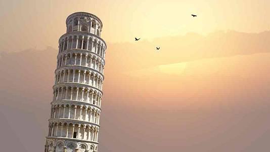 La Torre de Pisa se está enderezando