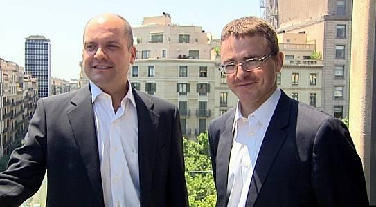 Dos científicos de premio y Lácteos para mejorar la salud