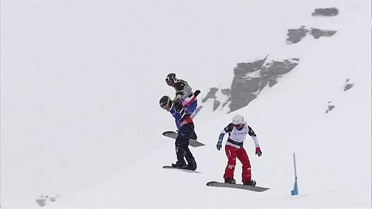 Snowboard - Copa del Mundo 2018/2019 Finales Snowboard Cross Prueba Cervinia