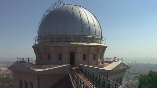 Observatorio Fabra,  aerogeneradores y Alianza por la cienci