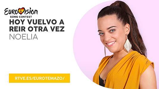 """Eurotemazo: """"Hoy vuelvo a reír otra vez"""", con Noelia"""