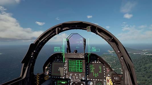 Así es el espectacular Modo RV de Ace Combat 7