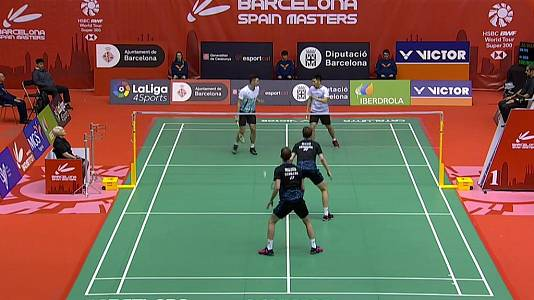 'Spain Masters 2019' Semifinal: Dobles Masculino