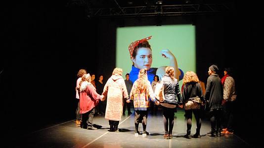 """""""Ellas, en movimiento"""", un montaje teatral para luchar por los derechos de las mujeres"""