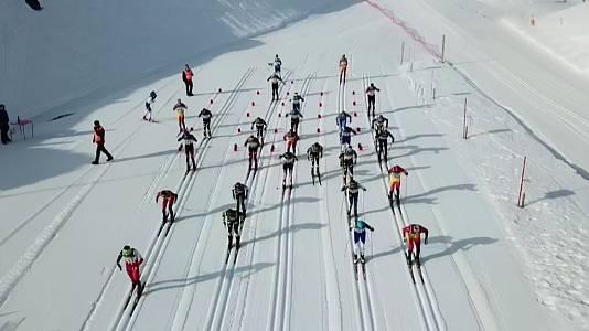 Campeonato Nacional Militar de Esquí, desde Candanchú - Jaca (Huesca)